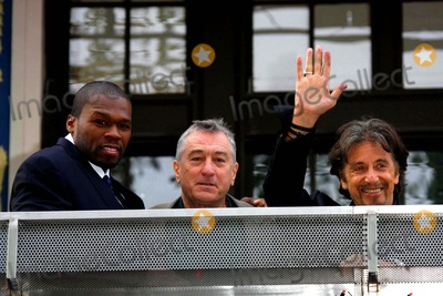 Curtis Jackson Photo - Curtis Jackson Robert DE Niro  AL Pacino Actors attends the Arrivals For the Uk Film Premiere of Righteous Kill the Empire Cinema Leicester Square London Photo by Dave Gadd-allstar-Globe Photos Inc 2008
