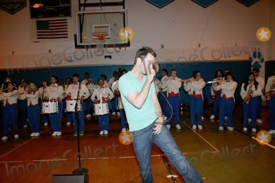 Andy Grammer Photo - Mentos Rocks Donates 10000 to New Yorks All City High School Marching Band and a Special Performance by Andy Grammer Bruce Cotler