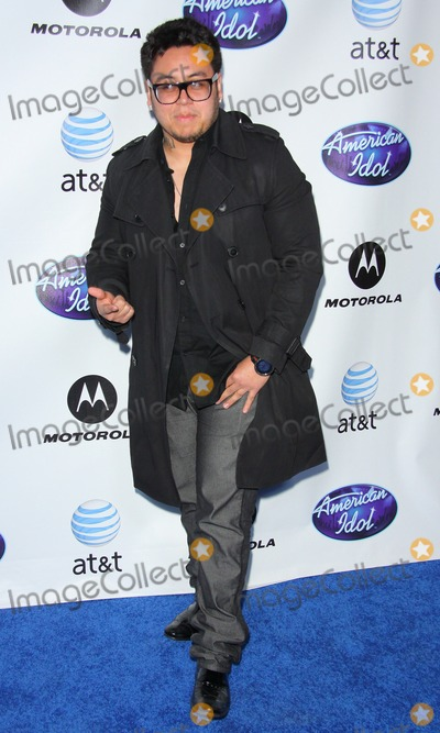 Andrew Garcia Photo - Andrew Garcia the 2011 Debut of the American Idol Top 24 Semi-finalists - Arrivals Held at the Roosevelt Hotel Hollywood CA February 24 - 2011 photo Tleopoldglobephotos