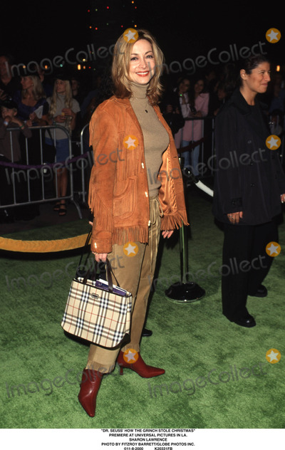 The Grinch Photo - Dr Seuss How the Grinch Stole Christmas Premiere at Universal Pictures in LA Sharon Lawrence Photo by Fitzroy BarrettGlobe Photos Inc 11-8-2000