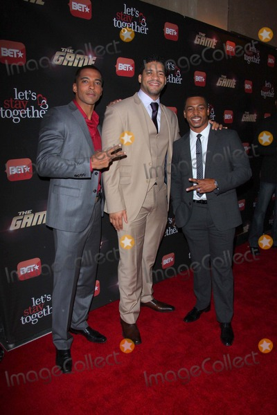 Christian Keyes Photo - Christian Keyesbert Belascoronreaco Lee Bets Premiere Launch Event For the Game - lets Stay Together Held at the Roosevelt Hotellos Angelesca January 5 -2012 Photo Tleopold-Globe Photos Inc