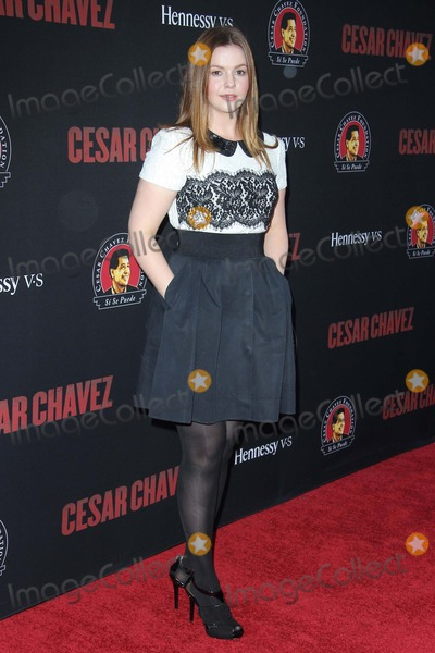 Amber Tamblyn Photo - Amber Tamblyn attends Cesar Chavez Los Angeles Premiere at the Tcl Chinese Theatre on March 20th 2014 Los Angeles californiausaphototleopold Globephotos