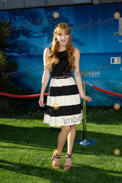 Bella Thorne Photo - Bella Thorne During the Los Angeles Film Festivals Premiere of the New Movie From Disney Pixar Brave Held at the Dolby Theatre on June 18 2012 in Los Angeles Photo Michael Germana  Superstar Images - Globe Photos