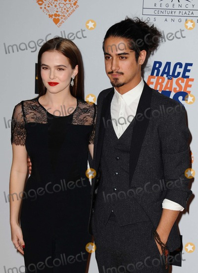 Avan Jogia Photo - Zoey Deutch Avan Jogia attending the 21st Annual Race to Erase MS Gala Held at the Hyatt Regency Plaza Hotel in Century City California on May 2 2014 Photo by D Long- Globe Photos Inc