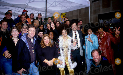 Janice Huff Photo - 2602- New York City 1970s Themed Show of Weekend Today at NBC Studios in Rockefeller Center Ken Babolscay  Ipol Globe Photos Inc I7109kba Soledad Obrien David Bloom  Janice Huff