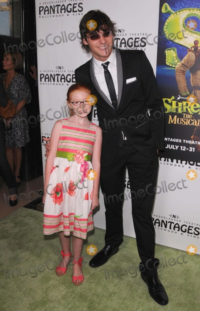 Lacianne Carriere Photo - Opening Night of Shrek the Musical at the Pantages Theatre in Hollywood CA 71311 Photo by Scott Kirkland-Globe Photos  2011 Lacianne Carriere and Rj Mitte