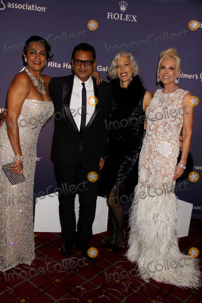 Naeem Khan Photo - Ranjana Khannaeem Khan Linda Fargomichele Herbert at Alzheimers Association Rita Hayworth Gala at Waldorf Astoria Hotel 10-26-10 Photo by John BarrettGlobe Photos Inc2010