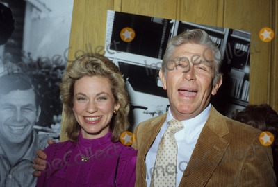 Andy Griffith Photo - Andy Griffith with Wife N2773 Photo by Nate Cutler-Globe Photos Inc