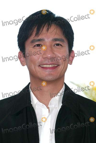 Tony Leung Photo - Tony Leung Photocall 2046 Cannes Filmfest Palais Des Festivals Cannes France 05212004 Photo by Alec MichaelGlobe Photos Inc 2004