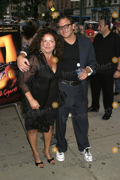 Aida Turturro Photo - August 2007 - New York NY USA - Aida Turturro and Guest attends Premiere Screening of John Turturros Romance  Cigarettes Movie at the Clearview Chelsea West Cinema Photo by Anthony G Moore-Globe Photos 2007
