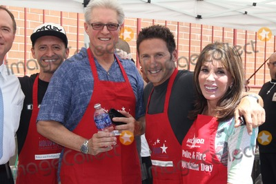 Adam Schiff Photo - Hollywood Chamber of Commerce Hosts Annual Police  Firefighters Appreciation Day Hollywood Division Station Hollywood CA 08272014 Adam Schiff Clifton Collins Jr Bruce Boxleitner Mark Feuerstein and Kate Linder Clinton H WallaceGlobe Photos Inc