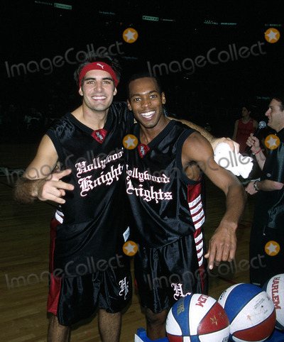 Anthony Montgomery Photo -  Celebrity Basketball Game Staples Center LA CA 020210 Galen Gering and Anthony Montgomery Photo by Milan RybaGlobe Photosinc