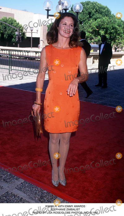 Stephanie Zimbalist Photo -  49th Emmy Awards Stephanie Zimbalist Photo by Lisa RoseGlobe Photos Inc