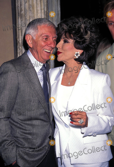 Aaron Spelling Photo - Pacific Palisades Launch Party in Los Angeles Aaron Spelling and Joan Collins 1997 Photo by Lisa Rose-Globe Photos