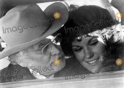 Art Carney Photo - Art Carney and Barbara Rhodes Hary and Tonto Movie Still Supplied by Globe Photos Inc Artcarneyretro