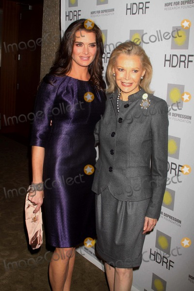 AUDREY GRUSS Photo - Audrey Gruss Brooke Shields at the Hope For Depression Research Foundations Honors Brooke Shields at 10 on the Park at Time Warner Center 60 Columbus Circle NYC 11-16-09 Photos by John Barrett-Globe Photosinc2009