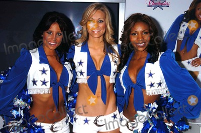 Dallas Cowboys Cheerleaders Photo - THE DALLAS COWBOYS CHEERLEADERS HOST A COCTAIL RECEPTION AT THE 4040 CLUB TO CELEBRATE THE 2007 NFL POST SEASON4040 CLUB NEW YORK  NYCOPYRIGHT 2007 JOHN KRONDES - GLOBE PHOTOS  PHOTOBY JOHN KRONDESBECCA GAMBEL ANDREA RICHARDS NICOLE HAMILTON  (DALLAS COWBOYS CHEERLEADERS)K51332JKRON