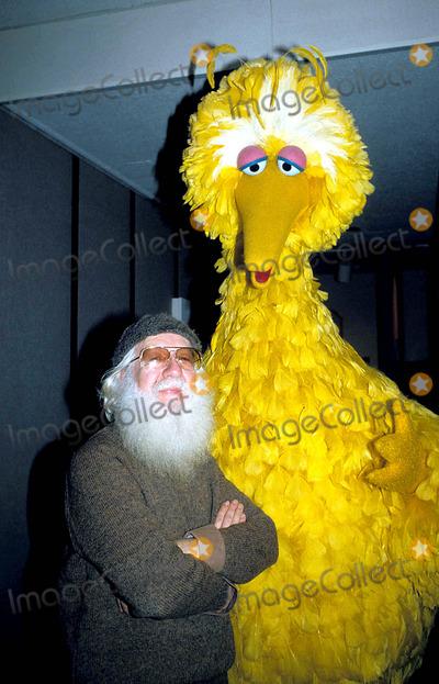Big Bird Photo - Big Bird Photo Hy Simon  Globe Photos Inc 1970sretro