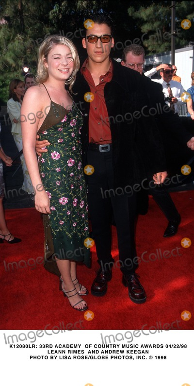 Andrew Keegan Photo -  33rd Academy of Country Music Awards 042298 Leann Rimes and Andrew Keegan Photo by Lisa RoseGlobe Photos Inc