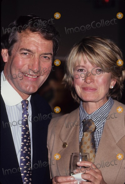 Charlie Rose Photo - Martha Stewart with Charlie Rose at Charlie Rose Party  the Century Asso 1993 L4644st Photo by Stephen Trupp-Globe Photos Inc