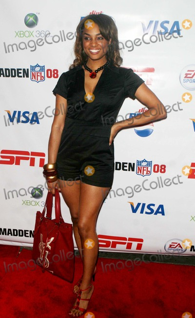 ALICIA RENEE Photo - Party For Madden Nfl O8 New Xbox Video Game at Espn Zone Resturant at Times Square Date 08-13-07 Photos by John Barrett-Globe Photosinc Alicia Renee