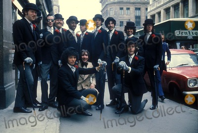 Keith Moon Photo - Sha Na Na with Keith Moon Supplied by Globe Photos Inc