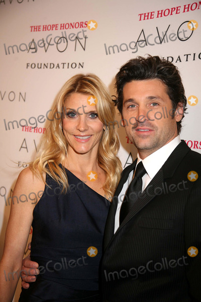 Jillian Dempsey Photo - The Avon Foundation Hope Honors Cipriani 42nd St NYC October 28-08 Photos by Sonia Moskowitz Globe Photos Inc 2008 Patrick and Jillian Dempsey