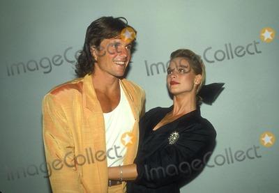 Roger Wilson Photo - Nicolette Sheridan with Roger Wilson 8-1986 Photo by Betty Mickelson-michelson-Globe Photos Inc