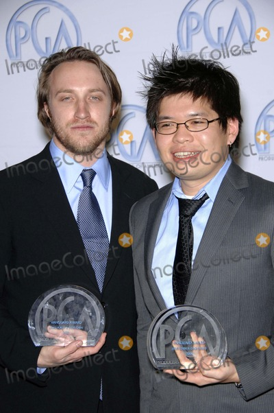 Steve Chen Photo - Chad Hurley and Steve Chen the 19th Annual Producers Guild Awards (Press Room) Held at the Beverly Hilton Hotel on February 2 2008 in Beverly Hills California Photo by Michael Germana-Globe Photos 2008