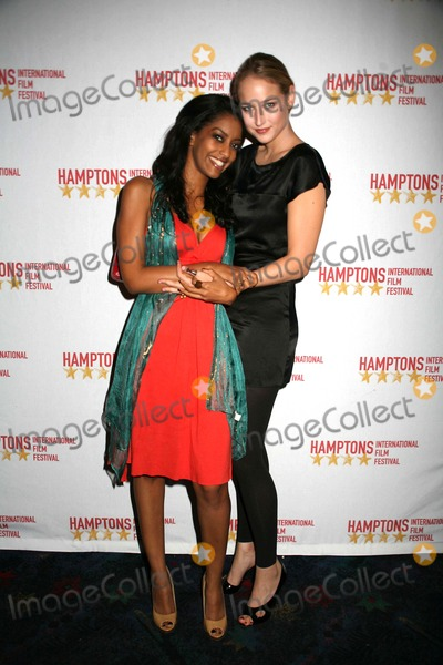 Azie Tesfai Photo - The 15th Annual Hamptons International Film Festival Screening of the Elder Son East Hampton NY 10-18-07 Photos by Sonia Moskowitz-Globe Photos Inc Leelee Sobieski and Azie Tesfai