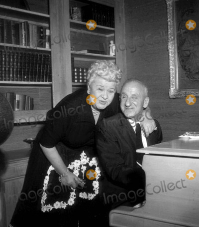 Jimmy Durante Photo - Sophie Tuckerjimmy Durante Photo Nate CutlerGlobe Photos Inc