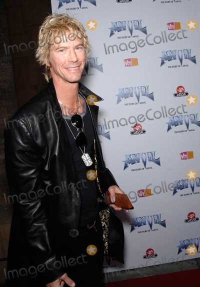 Anvil Photo - Duff Mckagan During the Premiere of the New Movie Anvil the Story of Anvil  Held at the Egyptian Theatre on 04-07-2009 in Los Angeles Photo Michael Germana- Globe Photos