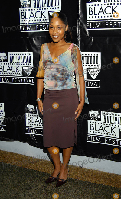Monica Calhoun Photo - Hollywood Black Film Festival Harmony Gold Theater Hollywood CA 06032003 Photo by Jonathan Friolo  Globe Photos Inc 2003 Monica Calhoun