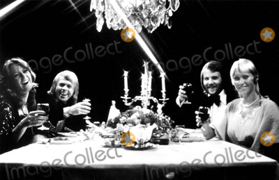 ABBA Photo - Anni-frid Lyngstad Bjorn Ulvaeus Benny Anderson and Angetha Faltskog of Abba 61978 SmpGlobe Photos Inc