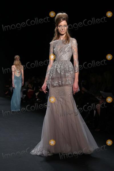 Badgley-Mischka Photo - Badgley Mischka Fall 2015 Fashion Show- Mercedes Benz Fashion Week Lincoln Center NYC February 17 2015 Photos by Sonia Moskowitz Globe Photos Inc