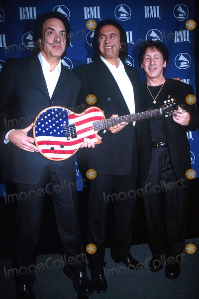 Ace Frehley Photo -  12401 the New York Chapter of the Recording Academy at the Roosevelt Hotel in NYC Kiss Band Members Paul Stanley Gene Simmons and Ace Frehley Photo by Paul SchmulbachGlobe Photos Inc