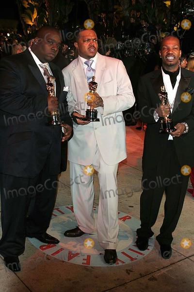 Jordan Houston Photo - 78th Annual Academy - Oscar Awards Vanity Fair at Mortons  Los Angeles CA 03-05-2006 Photo John Barrett-Globe Photos Inc 2006 Jordan Houston Cedric Coleman Paul Beauregard Three Six Mafia