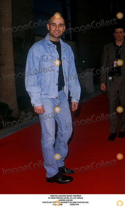 Andre Agassi Photo - 2000 Billboard Music Awards at Mgm Grand Hotel in Las Vegas Andre Agassi Photo by Fitzroy BarrettGlobe Photos Inc 12-5-2000