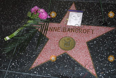 Anne Bancroft Photo - Anne Bancroft Memorial on the Hollywood Walk of Fame Hollywood Blvd  Cahuenga Hollywood CA 06-09-2005 Photo Clinton H WallacephotomundoGlobe Photos Inc 2005 Anne Bancroft Memorial on the Hollywood Walk of Fame