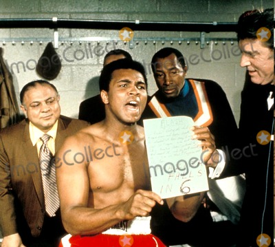 Burt Lancaster Photo - Muhammad Ali and Burt Lancaster Photo Globe Photos Inc Coolathletes