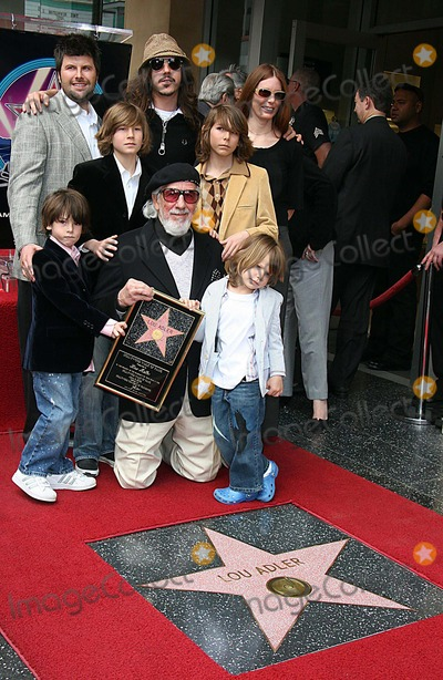 Page Hannah Photo - Music Producer Lou Adler Honoured with Star on the Hollywood Walk of Fame Hollywood CA 04-06-2006 Photo Clinton H WallacephotomundoGlobe Photos Lou Adler and Family - Page Hannah Nikolaj Adler ( Son with Britt Ekland) Cisco Adler