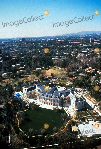 Aaron Spelling Photo - Aaron Spellings Hollywood Home CA Globe Photos Inc