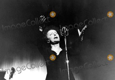 Edith Piaf Photo - Edith Piaf Photo by Photographic ServiceipolGlobe Photos Inc