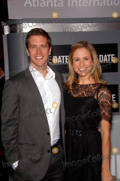 Adam Sztykiel Photo - Adam Sztykiel and Ellie Knaus During the Premiere of the New Movie From Warner Bros Pictures Due Date Held at Graumans Chinese Theatre on October 28 2010 in Los Angeles Photo Michael Germana - Globe Photos Inc 2010