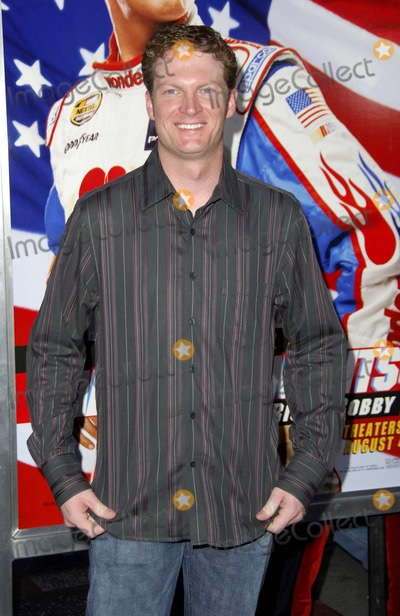 Dale Earnhardt Jr Photo - K49130MGE LOS ANGELES CA JULY 26 2006 (SSI) - -DALE EARNHARDT JR during the premiere of the new movie from Columbia Pictures TALLADEGA NIGHTS THE BALLAD OF RICKY BOBBY held at Graumanns Chinese Theatre on July 26 2006 in Los Angeles PHOTO BY Michael Germana-GLOBE PHOTOSINCDALE EARNHARDT JR