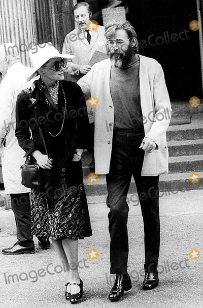 Sian Phillips Photo - Peter Otoole and His Wife Sian Phillips Leave Hampstead General Hospital After Visiting His Mother 1973 Globe Photos Inc Peterotooleretro