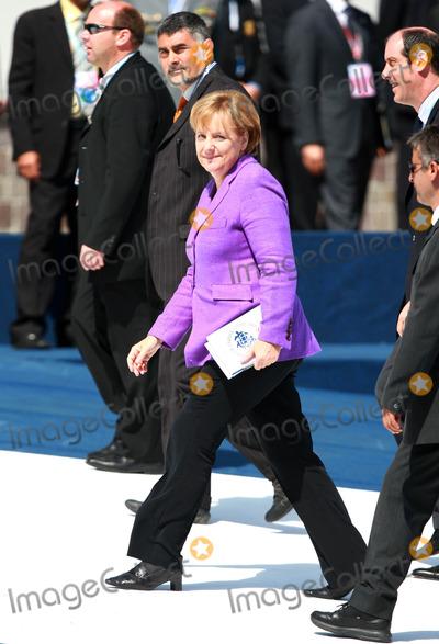 Angela Merkel Photo - Angela Merkel Chancellor of Germany G8 Summit Meeting 2009 at the Guardia Di Finanza School in Laquila Abruzzo Italy Photo by David Gadd - Allstar - Globe Photos Inc