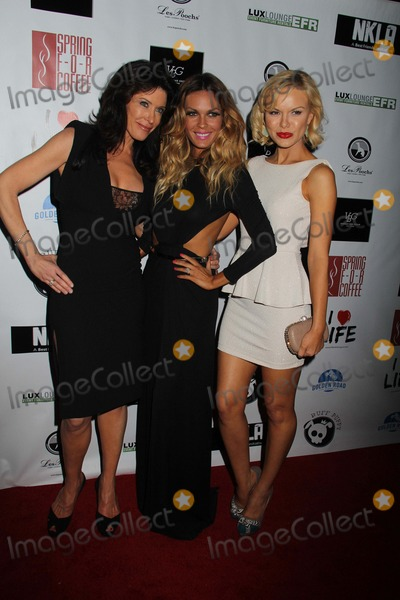 Anya Monzikova Photo - No Kill LA Charity Event Hosted by Jasmine Dustin and Anya Monzikova Mauros Cafefred Segal West Hollywood CA 04022013 Julie Lott Gallo Jasmine Dustin and Anya Monzikova Photo Clinton H Wallace-Globe Photos Inc