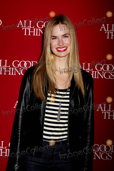 Alice Callahan Photo - All Good Things New York Premiere Sva Theater NYC December 1 2010 Photos by Sonia Moskowitz Globe Photos Inc 2010 Alice Callahan