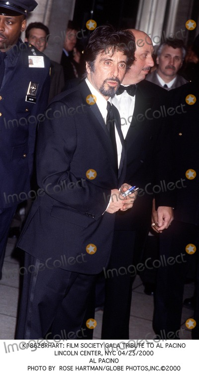 Al Pacino Photo -  Film Society Gala Tribute to AL Pacino Lincoln Center NYC 04252000 AL Pacino Photo by Rose HartmanGlobe Photosinc